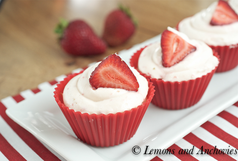 Sprinkles Strawberry Cupcakes with Strawberry Cream Cheese Frosting ...