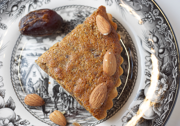 Almond-Date Tart | Lemons and Anchovies