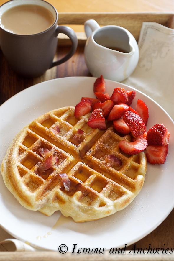 Belgian Waffle For belgian waffles.