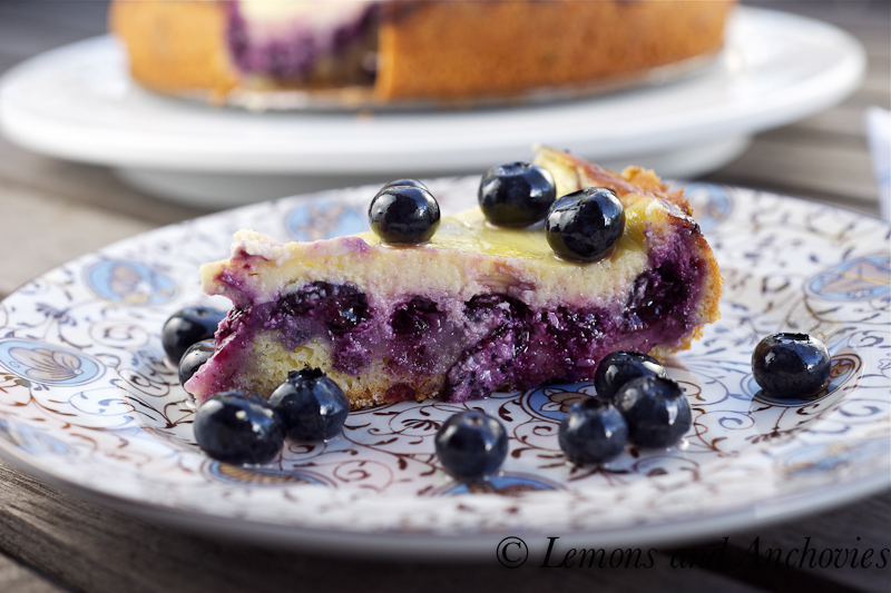 blueberry cake sour cream