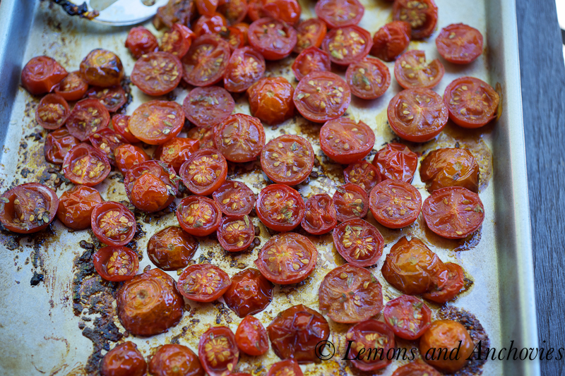 Bruschetta with tomatoes and feta