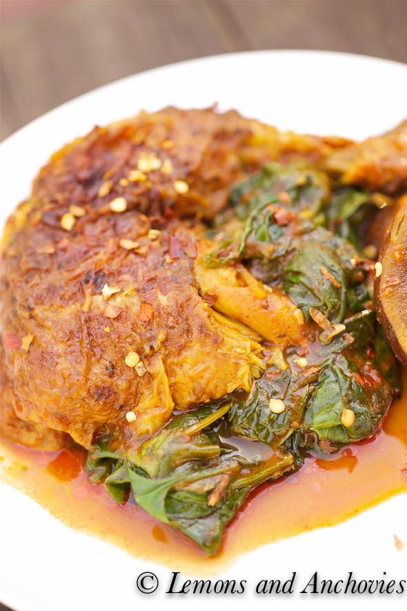 Chicken Spinach Curry-3