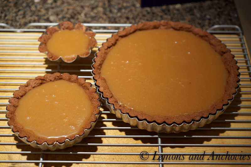 Chocolate Caramel Tart Recipe | Lemons and Anchovies