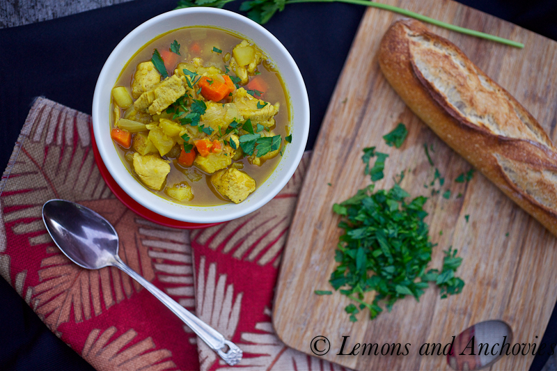 Curried Lentil Soup Recipe | Lemons and Anchovies