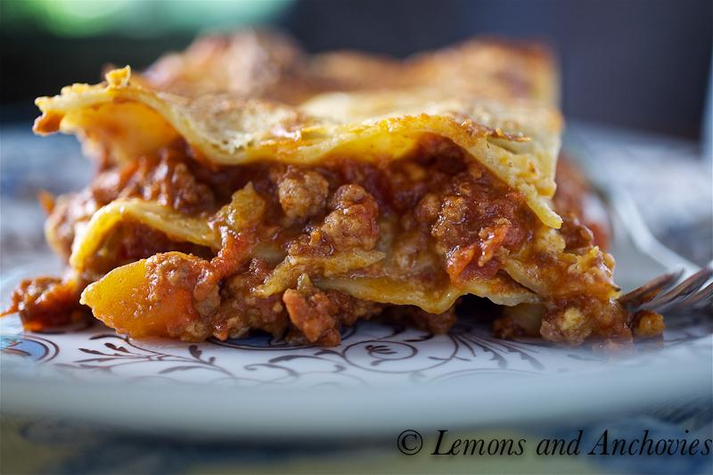My Favorite Lasagne alla Bolognese
