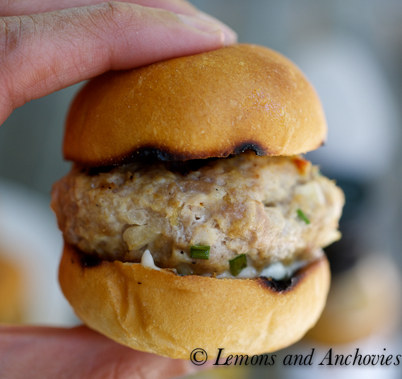 Lime Chipotle Turkey Sliders | Lemons and Anchovies