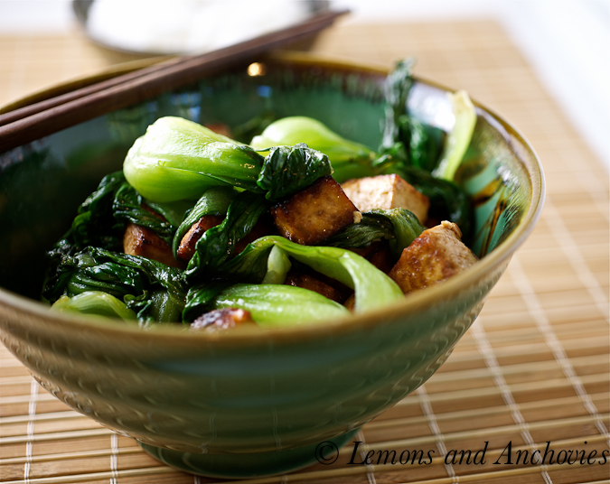 Marinated Tofu and Vegetable Stir-Fry | Lemons and Anchovies