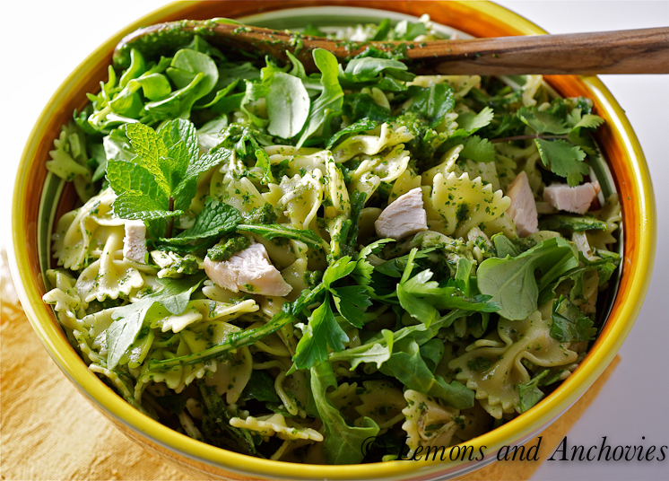Pasta With Spring Herbs Recipe — Dishmaps