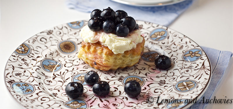 Puff Pastry Dessert Rounds With Lemon Mascarpone & Fresh Berries ...