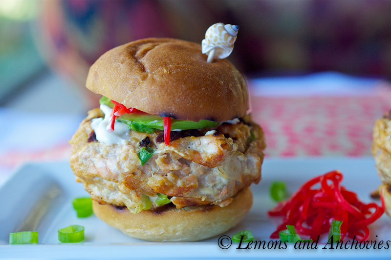 Asian Spiced Salmon Sliders With Soy Mayo & Spicy Slaw ...