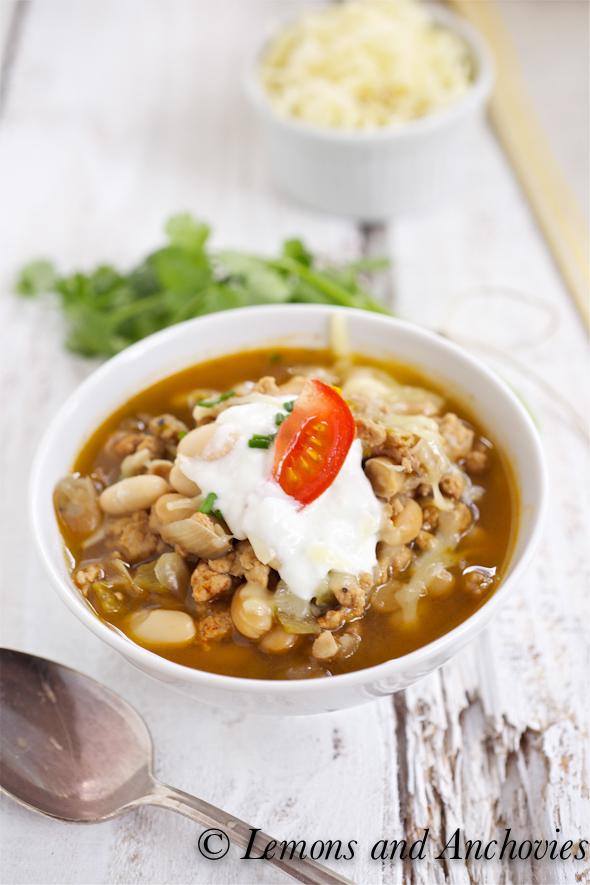White Chili Recipe — Dishmaps