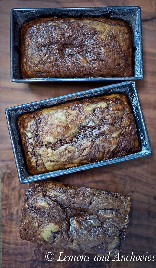 Roasted Banana-Nutella Quick Bread Recipes — Dishmaps