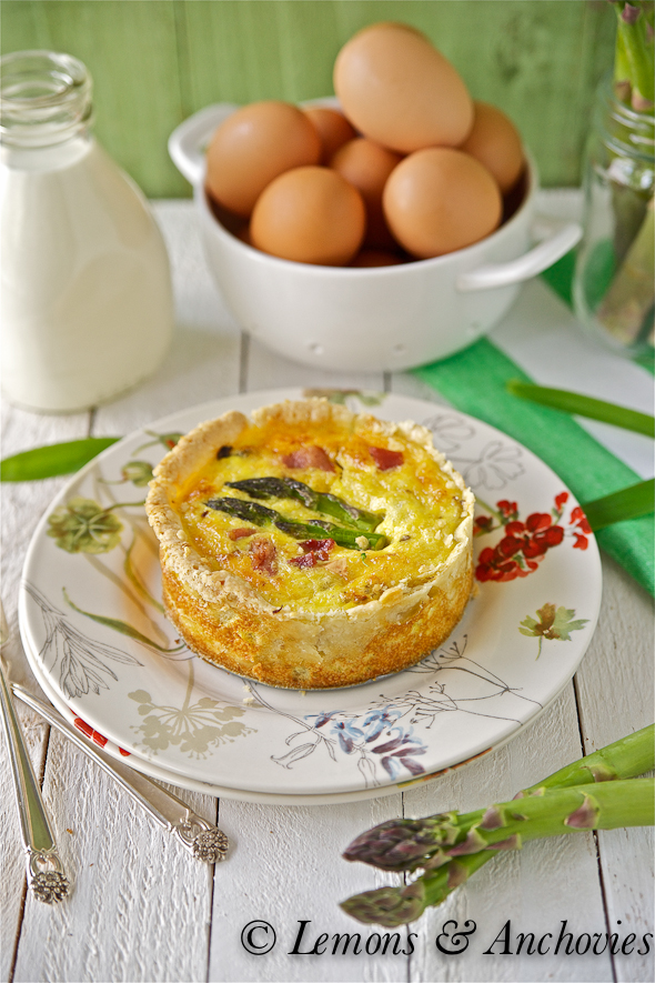 Asparagus and bacon quiche recipes easy