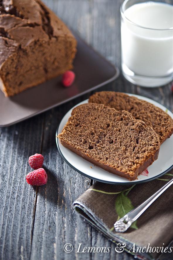 Chocolate Pound Cake Recipe | Lemons and Anchovies