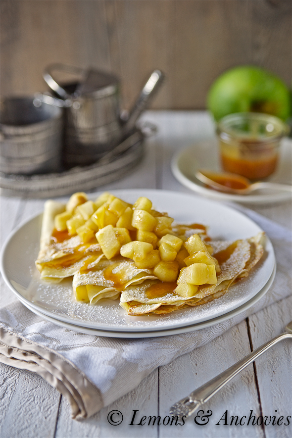 Caramel Apple Crepe Recipe Lemons And Anchovies