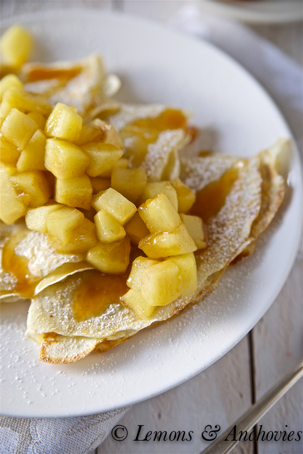... crepes with salted lemon crepes with salted lemon lemon butter caramel