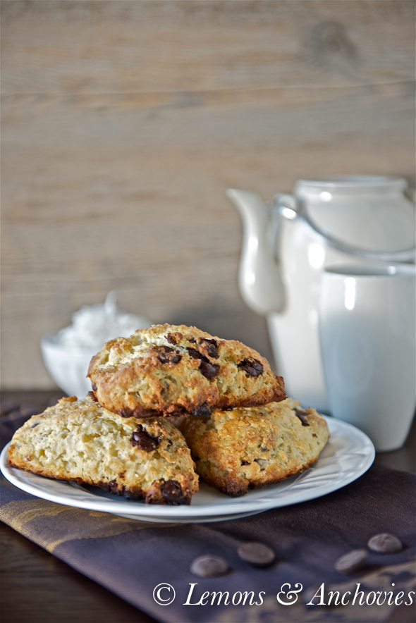 Chocolate Coconut Scones-2