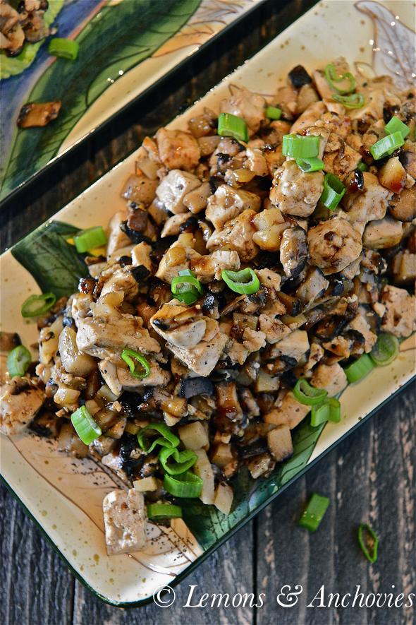 Mushroom-Tofu Lettuce Wraps-3