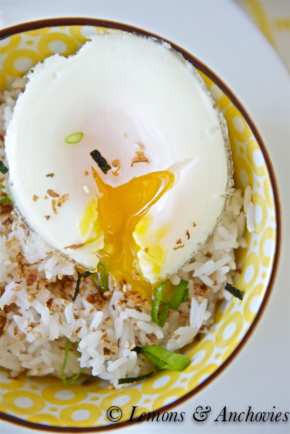 Poached Cod and Egg over Rice-4