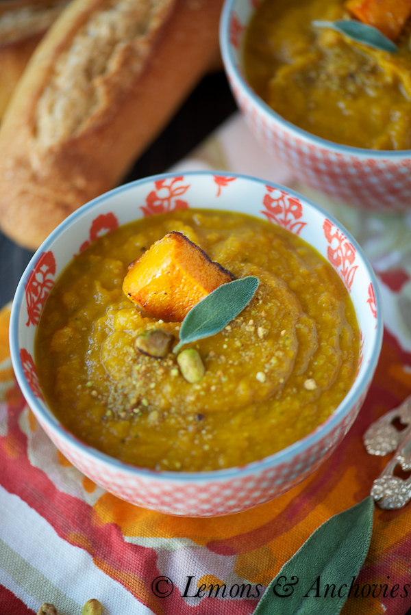 Roasted Butternut Squash Soup-2