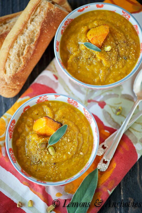Roasted Butternut Squash Soup-3