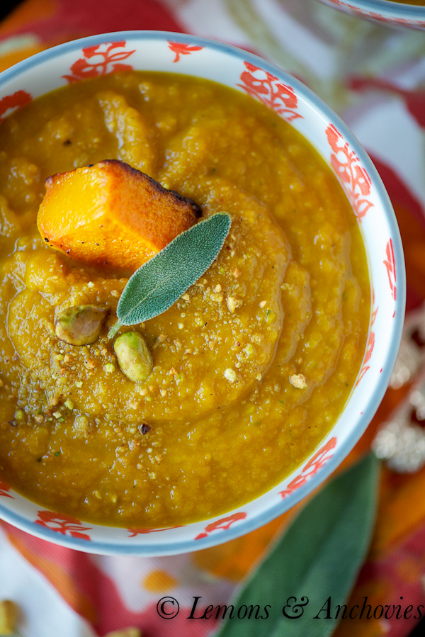 Roasted Butternut Squash Soup-4