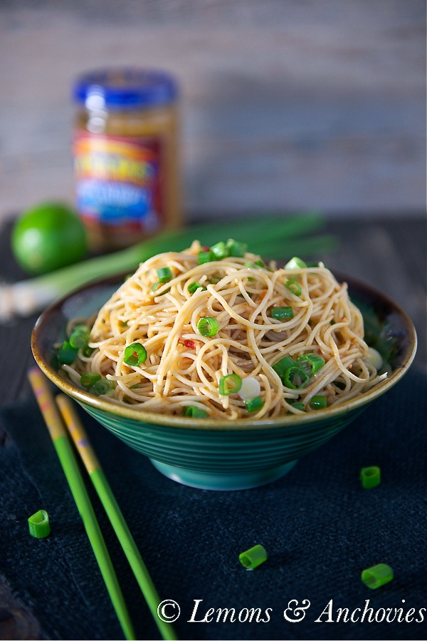 Noodles with Peanut-Lime Vinaigrette-3