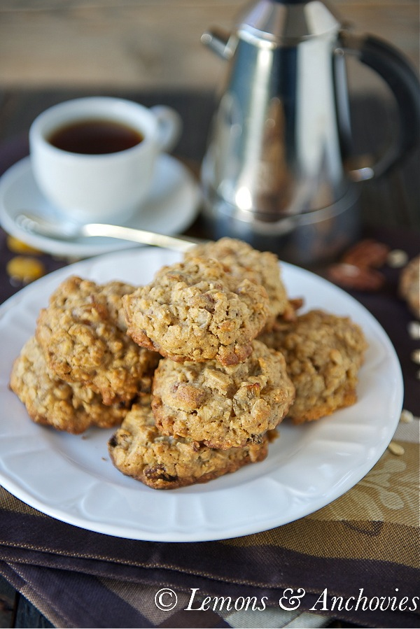 Oatmeal Raisin Cookie Recipe With Pecans Lemons And