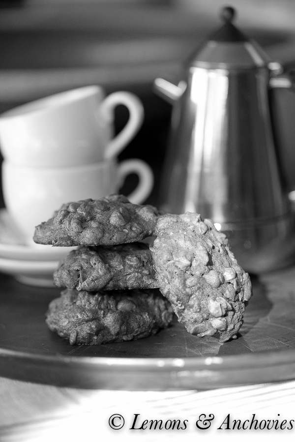 Chocolate-Butterscotch Oatmeal Cookies-7