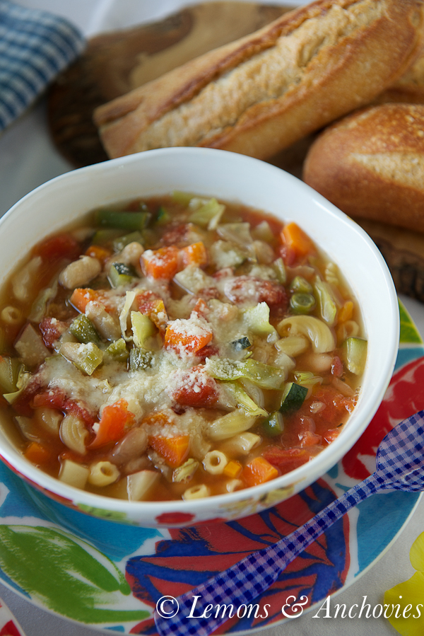 Weeknight Minestrone Soup-4