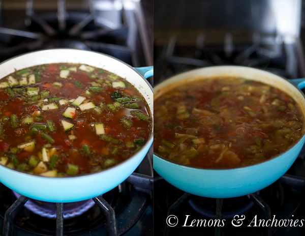 Weeknight Minestrone Soup-7