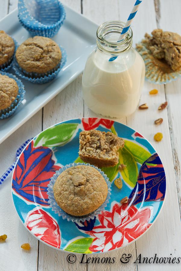 Banana Bran Muffins | Lemons & Anchovies Blog