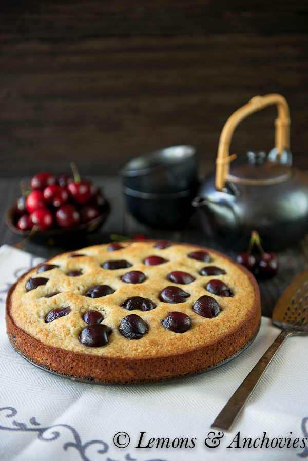 cherry almond cake recipe fresh cherry cake recipe two peas cherry ...