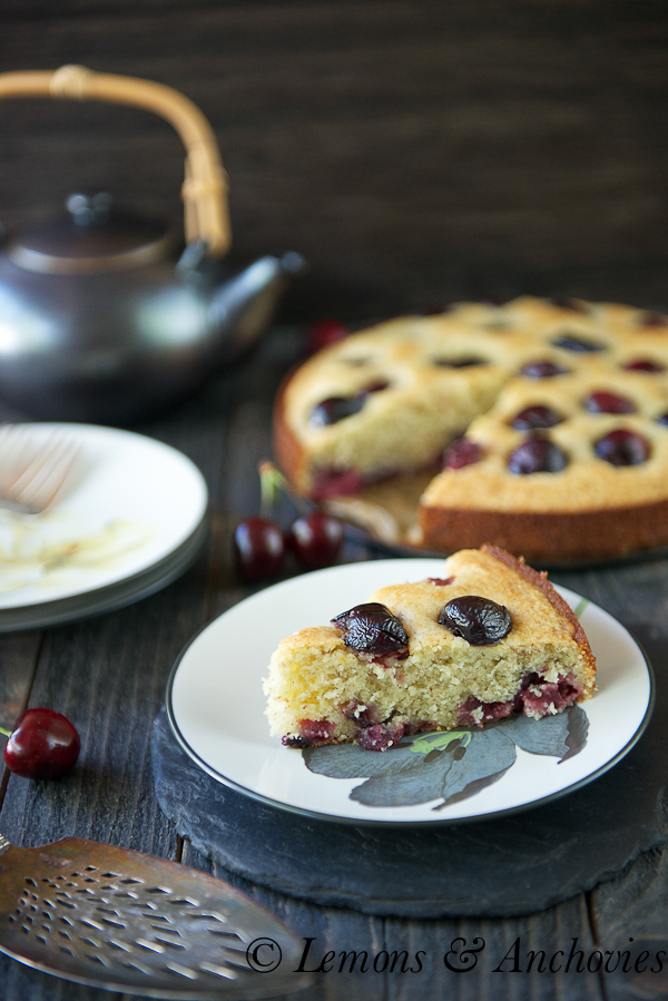 keeper. That's what this cherry-almond cake is and it was the only ...