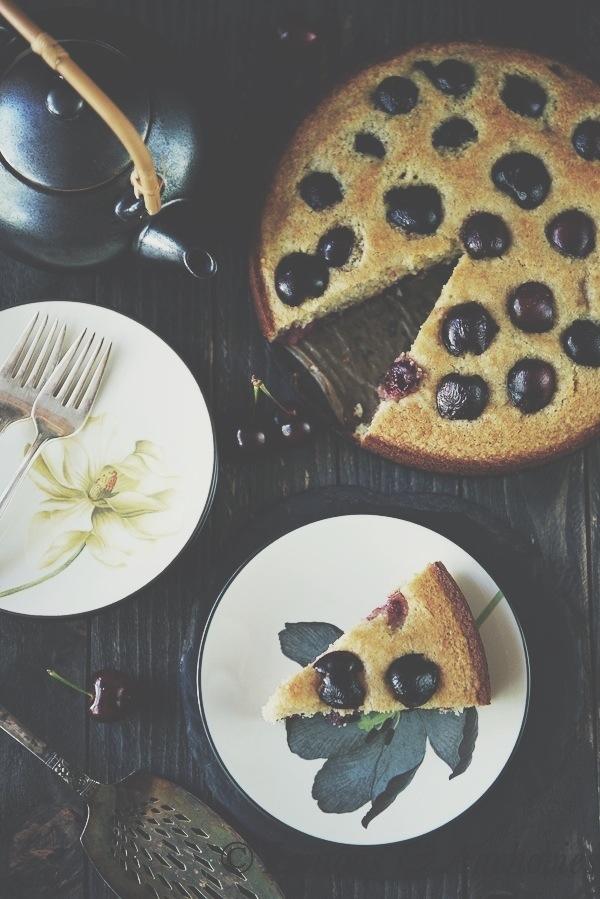 Cherry Almond Cake | http://lemonsandanchovies.com