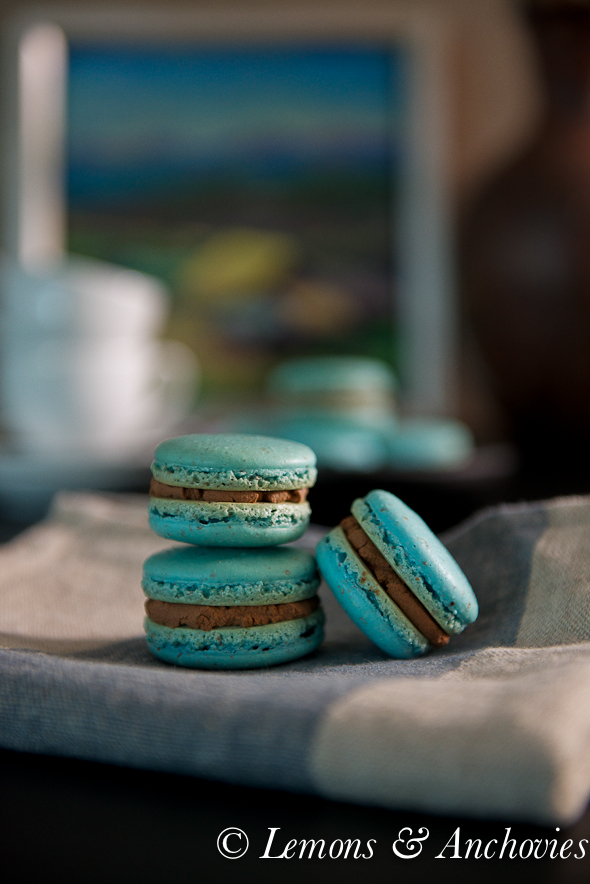 French Macarons with Chocolate-Chambord Ganache