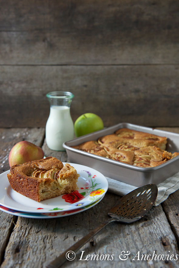 Danish Apple Cake