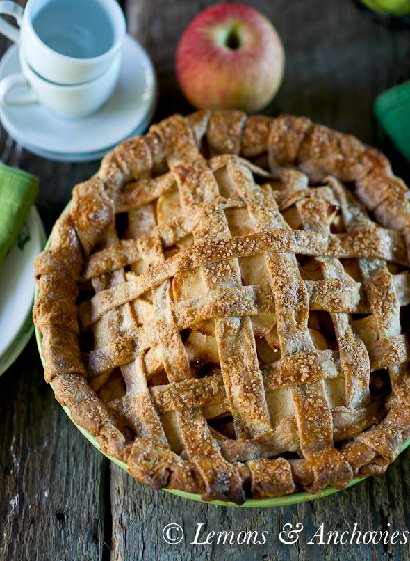 Apple Pie with Spelt Crust