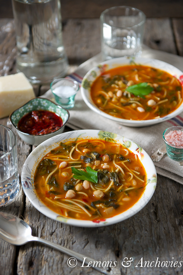 Hlelem- Tunisian Vegetable & Bean Soup